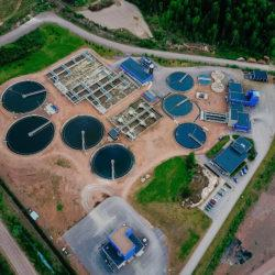 Mussalon jäteveden puhdistamo ilmakuva